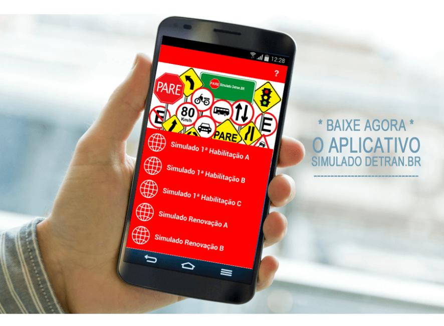 App Simulado Detran.BR para iOS