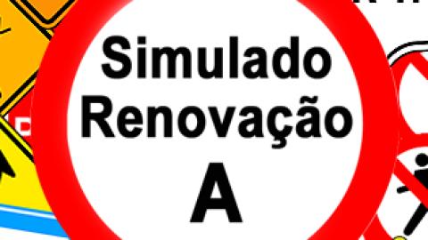 Simulado DETRAN Renovação A