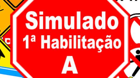 Simulado DETRAN 1ª Habilitação A