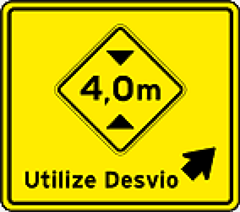 Placas Complementares de Advertência