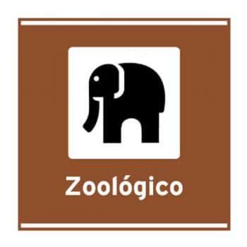 Sinalização Vertical de Indicação:Placas Atrativos Turísticos Naturais