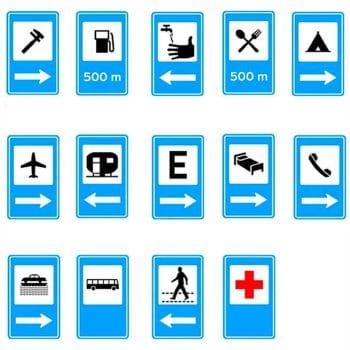 Placas de Serviços Auxiliares
