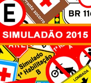 Simuladão DETRAN 2015 - Simulados Clube DETRAN