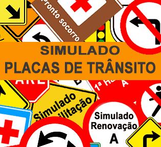 Simuladão Placas de Trânsito