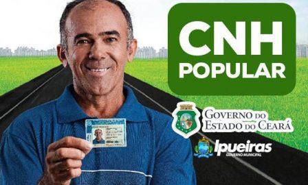 Carteira Popular de Habilitação Grátis Ceará