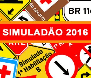 Simuladão DETRAN 2016 - Simulados Clube DETRAN
