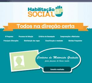 Habilitação Social DETRAN-PB