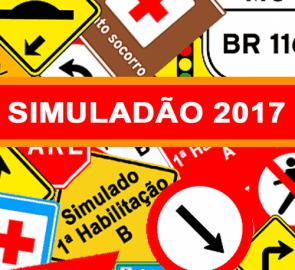 Simuladão DETRAN 2017 - Simulado Prova Teórica