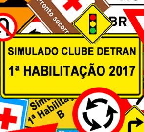 Simulado DETRAN 1ª Habilitação 2017