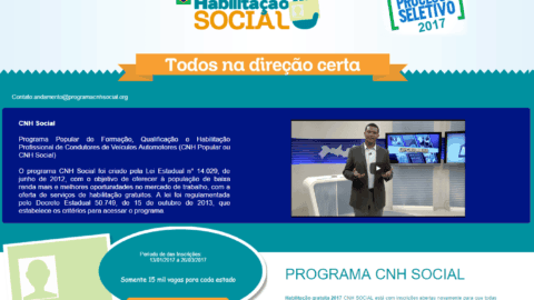 Detran-PB orienta sobre golpes na inscrição do Habilitação Social