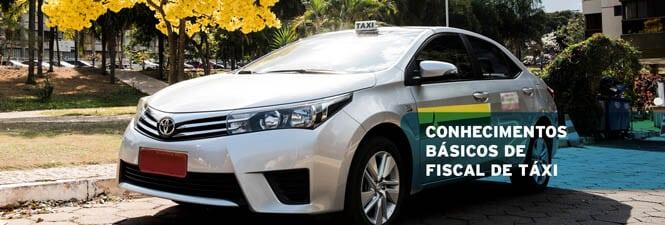 Conhecimentos Básicos de Fiscal de Taxi