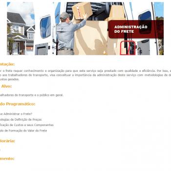 Curso Online Gratuito de Administração de Fretes SEST SENAT
