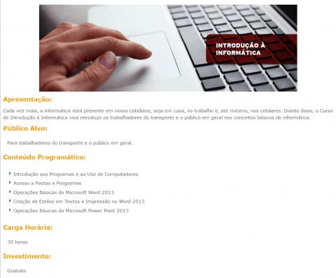 Curso Online Gratuito de Introdução à Informática