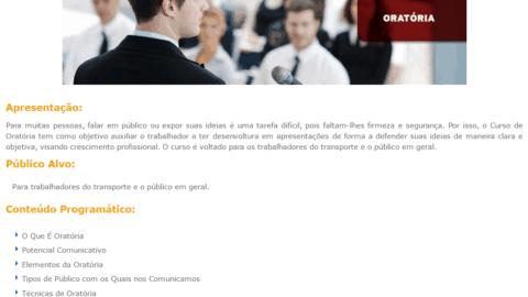 Curso Online Gratuito de Oratória