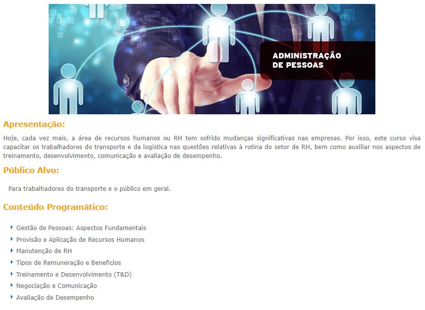 b2f785df46d067 Curso Online Gratuito de Administração de Pessoas — Clube DETRAN