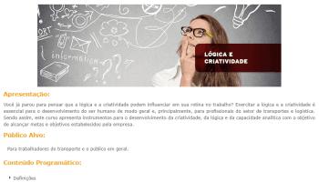 Curso Online Gratuito de Lógica e Criatividade