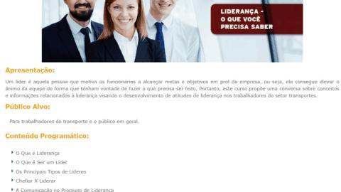 Curso Online Gratuito de Liderança