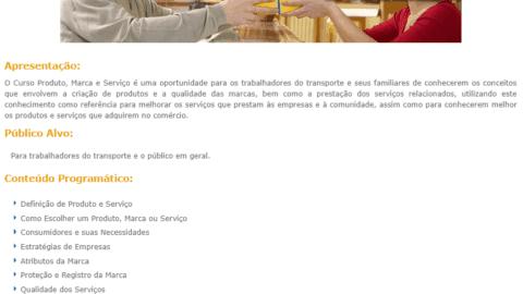 Curso Online Gratuito de Produto, Marcas e Serviço