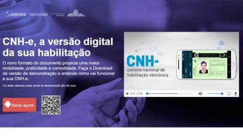 App da CNH digital está disponível para teste