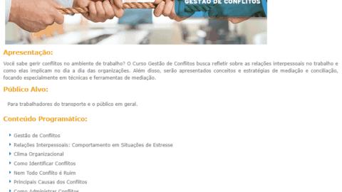 Curso Online Gratuito de Gestão de Conflitos