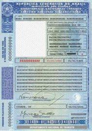 Carteira Nacional de Habilitação (CNH) possui cinco categorias