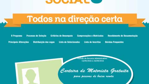 Como solicitar a Habilitação Social no DETRAN da Paraíba