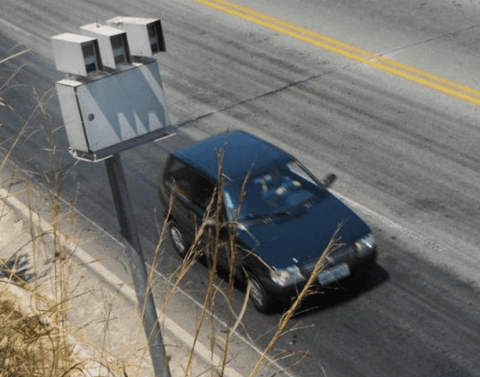 CET vai fiscalizar quem freia somente no radar