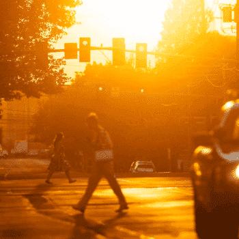Quais são as condições adversas de luz