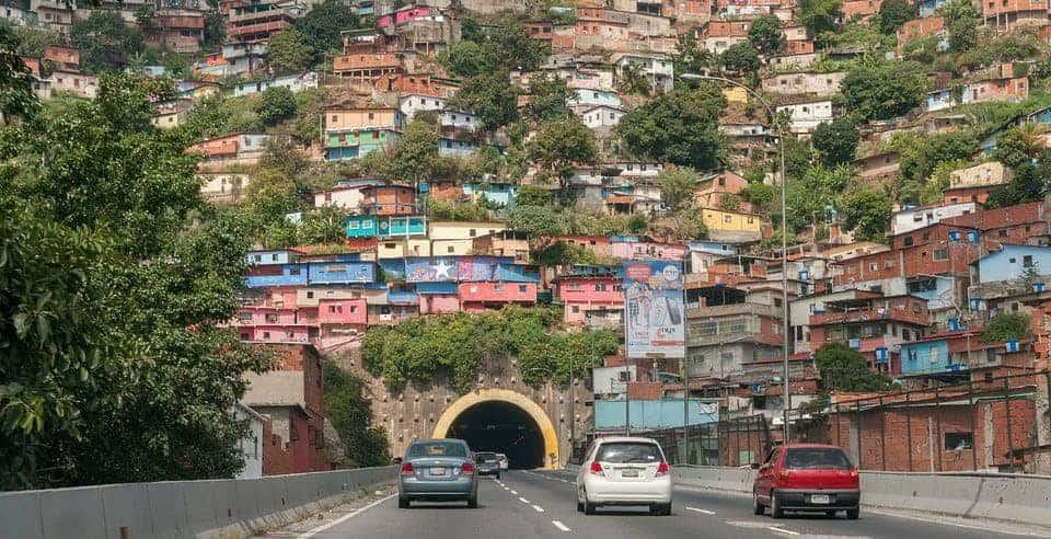 Trânsito em Caracas
