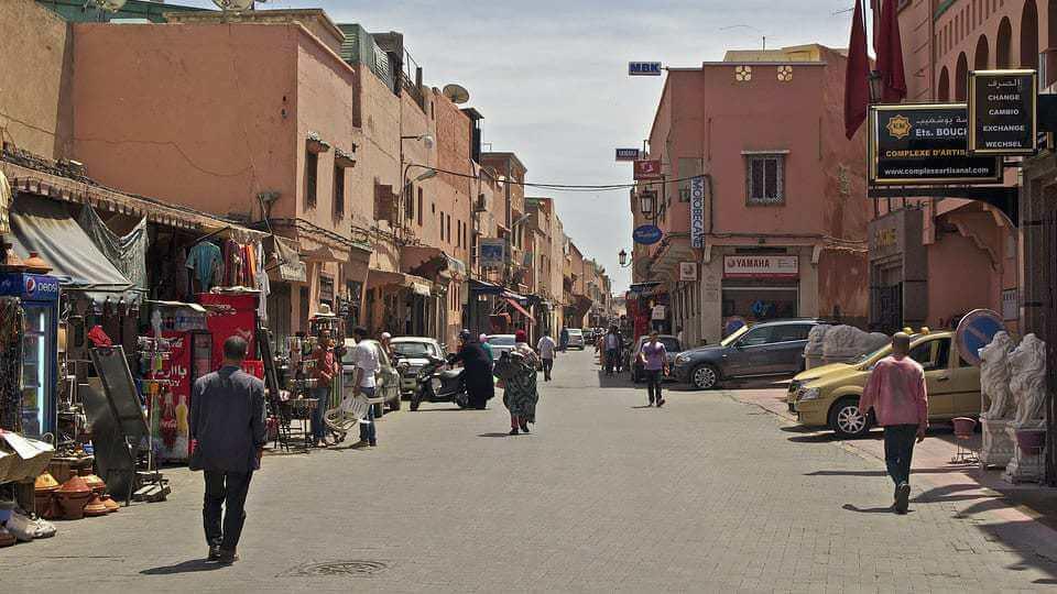 Trânsito em Marrakech