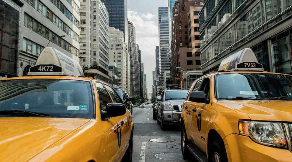 Trânsito em Nova Iorque