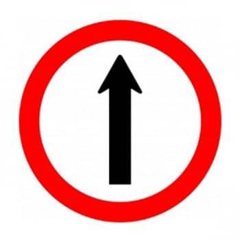 Sinalização Vertical deRegulamentação (Placas de Regulamentação)