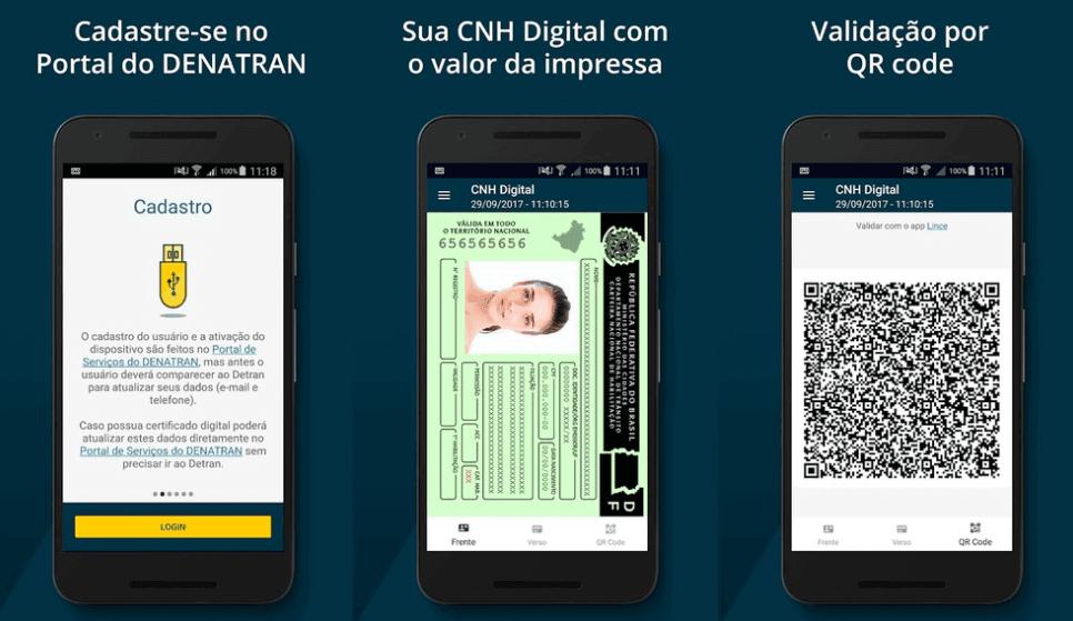 A partir de agora basta seguir o passo a passo abaixo para fazer a solicitação da sua CNH Digital