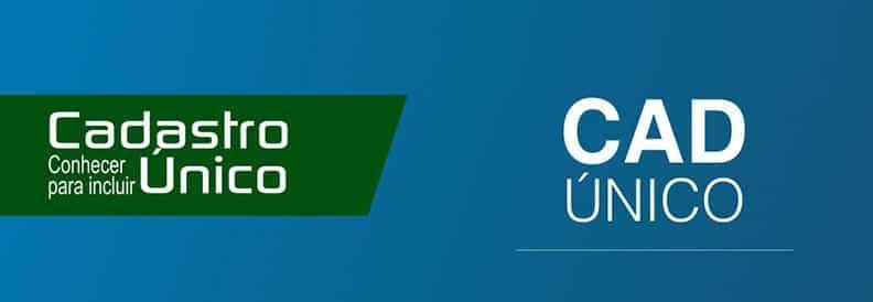 CadÚnico é constituído por sua base de dados, instrumentos, procedimentos e sistemas eletrônicos