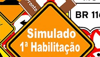 Simulado DETRAN 1ª Habilitação C