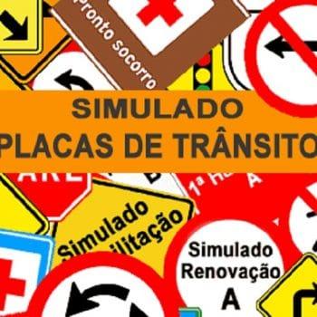 Para quem vai tirar sua 1ª habilitação ou renová-la, o Clube DETRAN criou o Simulado DETRAN Placas de Trânsito