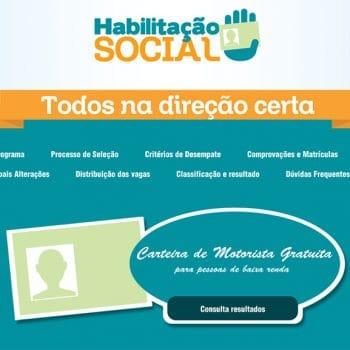 Estado da Paraíba amplia seu Programa CNH Social (Gratuita) para o Natal