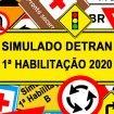 Simulado DETRAN 1ª Habilitação 2020
