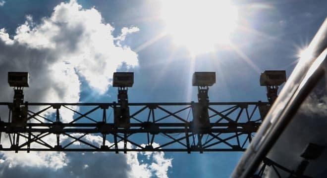 Divulgação de localização e horários de radares em estradas de São Paulo