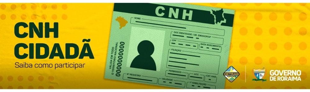 Aberta as inscrições para 400 vagas para a CNH Social em Roraima