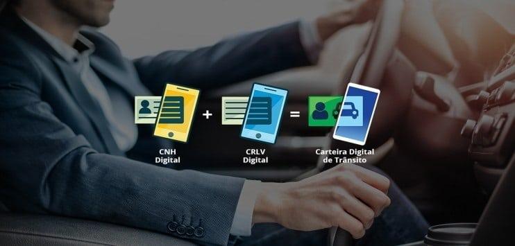 Para obter o CRLV digital, é preciso fazer o download do aplicativo CDT