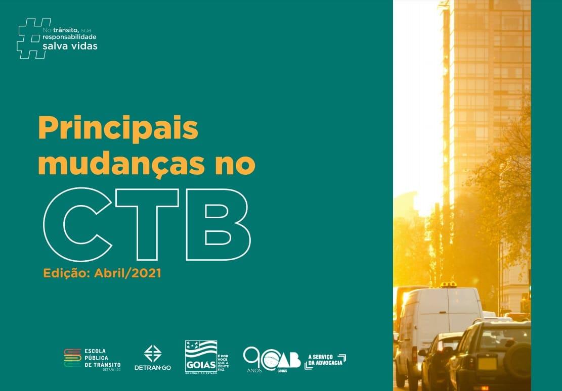 Cartilha virtual e orientam sobre mudanças no CTB